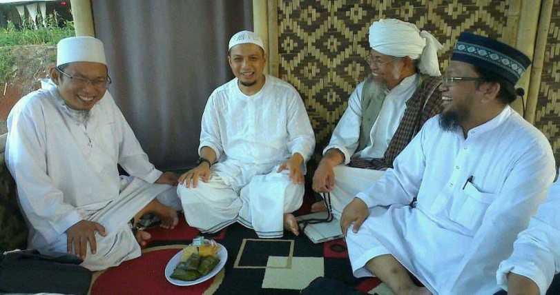 Arifin Ilham dan para masyaikh Jamaah Tabligh